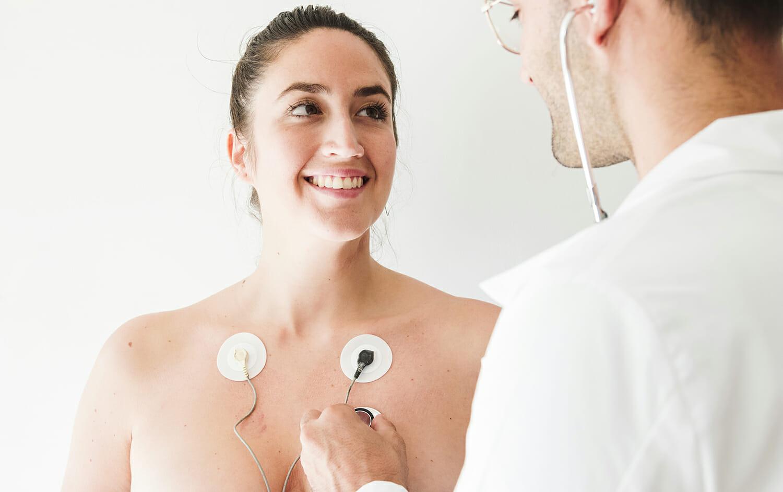 Electrocardiógrafo portátil México